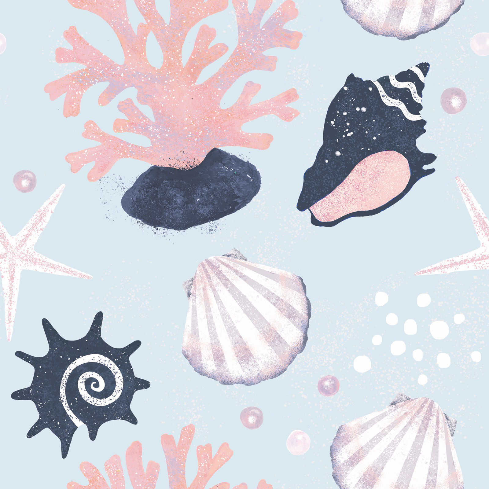 Shells Pearls